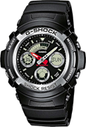 Часы CASIO G-SHOCK AW-590-1A