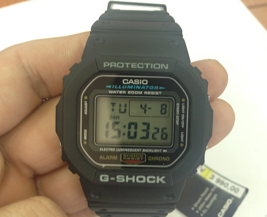 Casio G-Shock DW-5600E-1V
