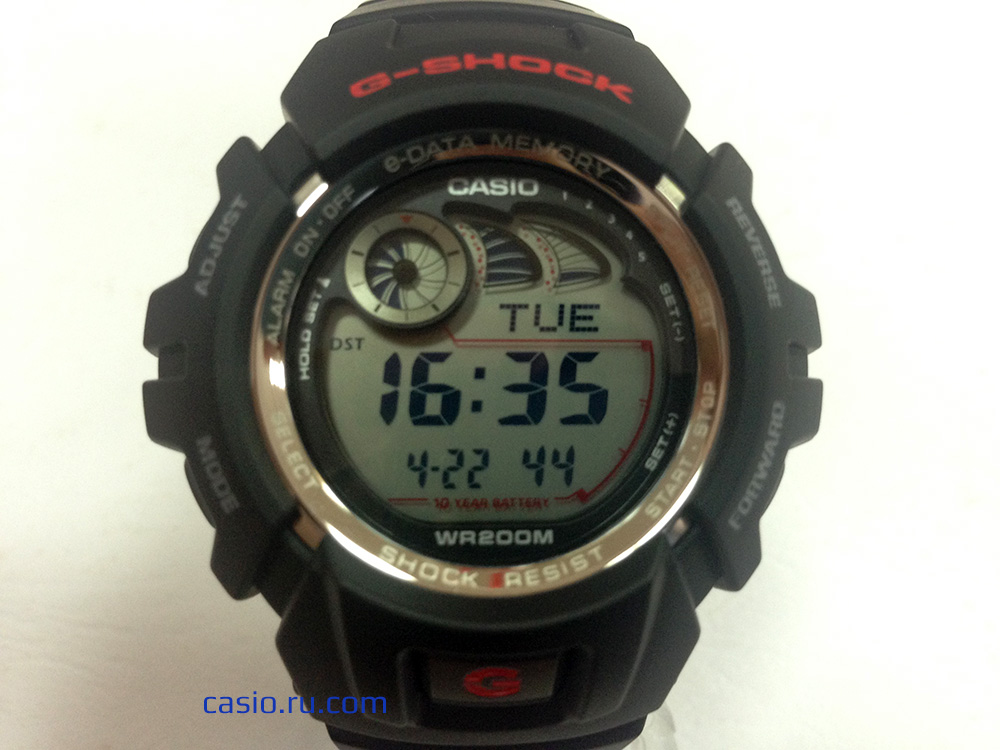 Casio G-Shock G-2900F — Общий вид