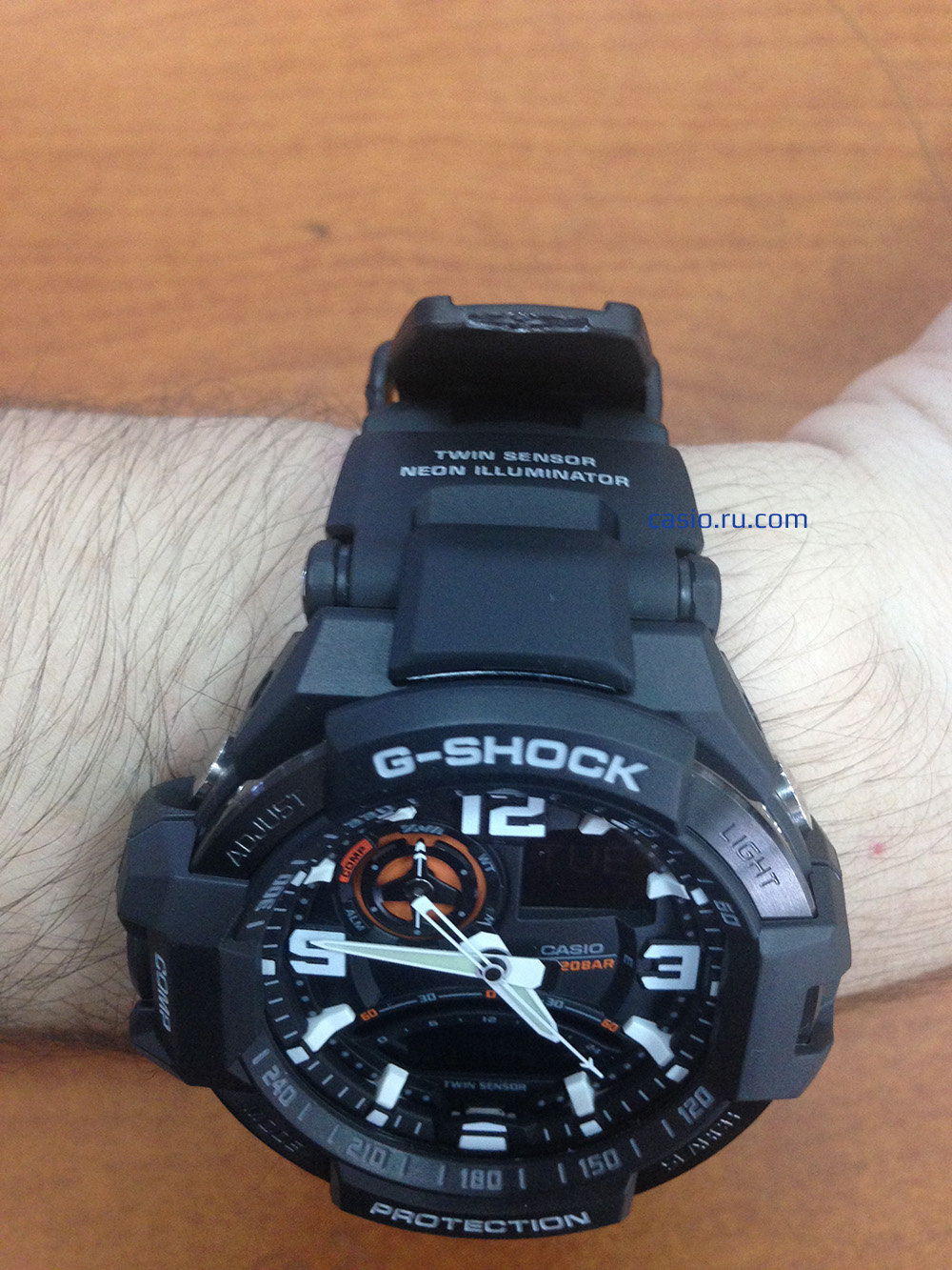 Обзор Casio G-Shock GA-1000
