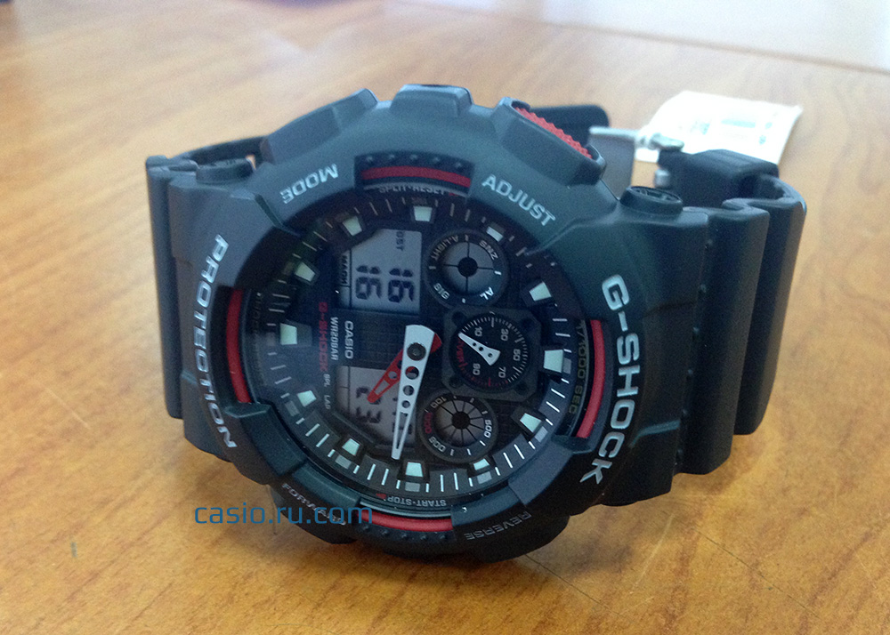 casiog-shock ga-100