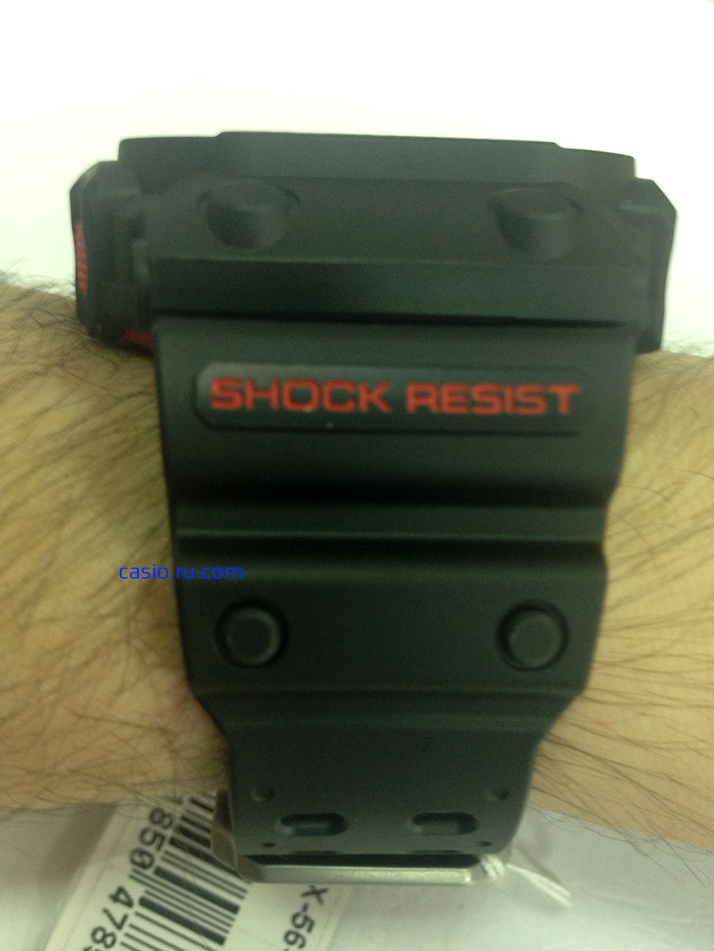 Casio G-Shock GX-56-1A — Вид сбоку